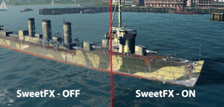 Мод паки для World of Warships